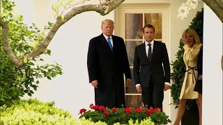 Trump's relationship with Macron could be tested over Syria, Iran nuclear deal