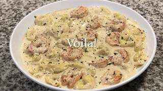 Shrimp Tortellini(QUICK & EASY!!!)