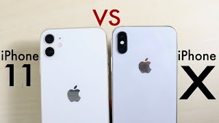 iPhone 11 Vs iPhone X! (Camera Comparison) (Review)