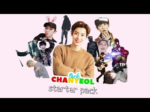 Park Chanyeol starter pack