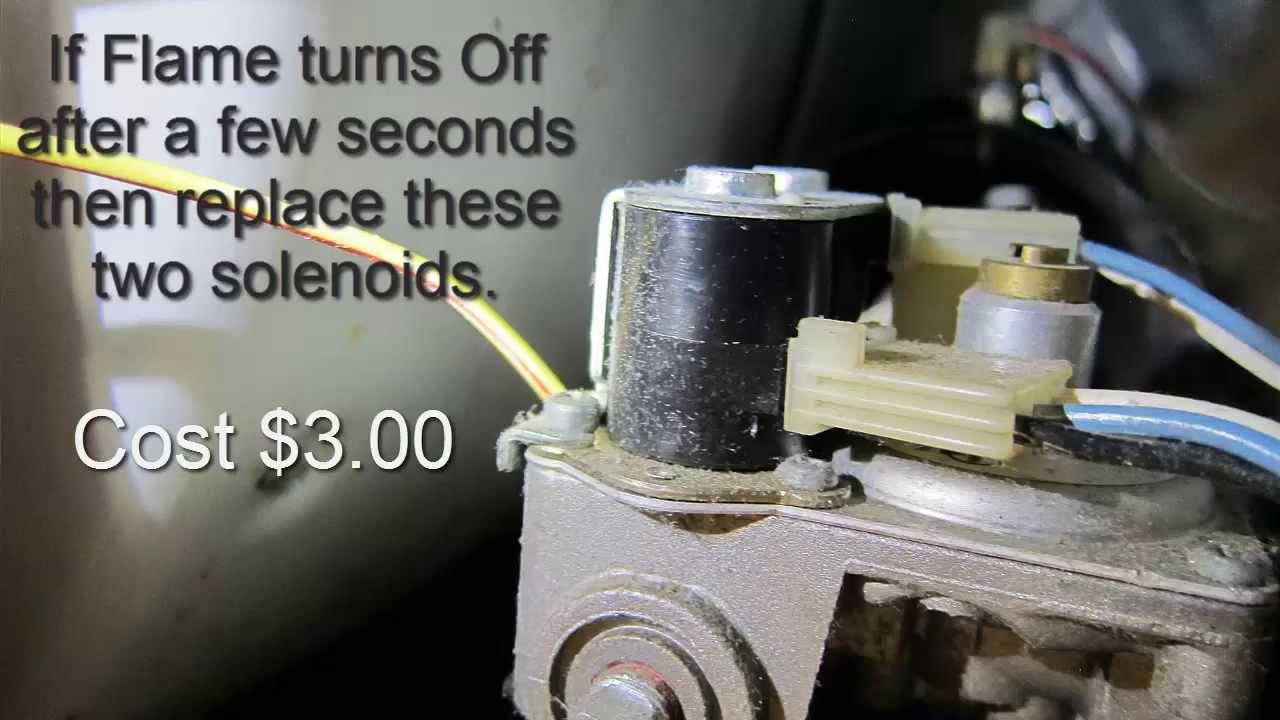 Gas Dryer Won T Heat Easy Repair Youtube