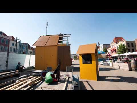 Timelapse - Opbouw vogelhuis Mees 2015