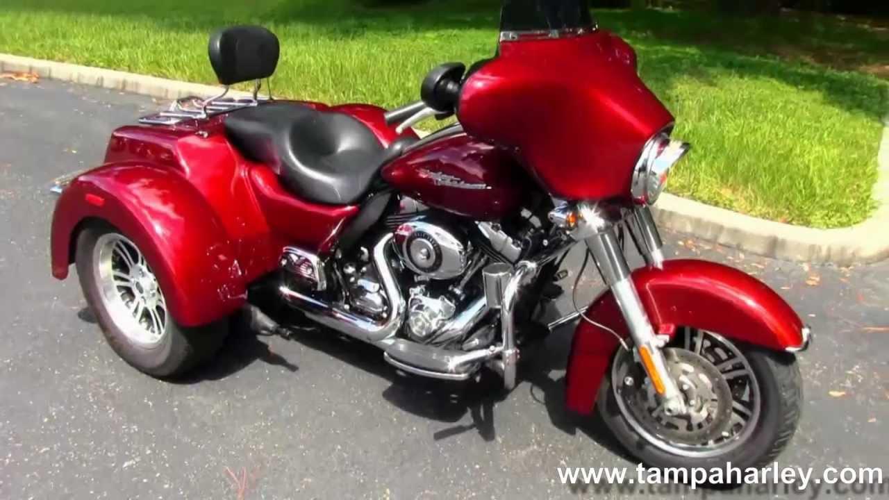 Craigslist Tampa Bay Florida >> Used 2010 Harley-Davidson Motorcycle Trike Street Glide For Sale Tama Reno Dallas - YouTube