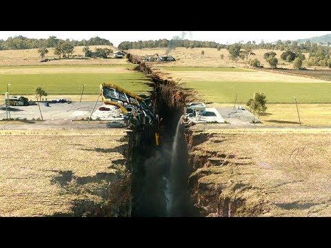 史上最强9.6级地震来袭,大地直接被撕裂,城市瞬间变成了地狱!