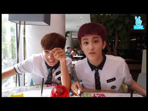 haechan laughing for almost two minutes (ft. mark)