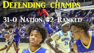 State Champs vs Nation #2 Ranked 🔥 High School Basketball Highlights
