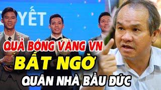🔥Danh hiệu Quả Bóng Vàng Việt Nam 2020, bất ngờ với quân nhà bầu Đức