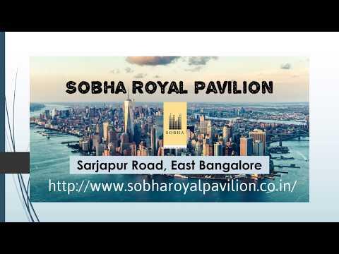Sobha Prelaunch Apartment Sarjapura Road Bangalore