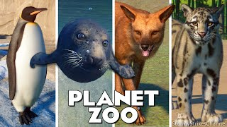 ALL 103 ANIMALS!    Every Single Animal in Planet Zoo    Including DLC Southeast Asia Pack