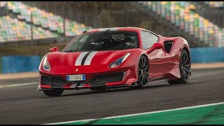 Ferrari 488 Pista : lap time at Magny Cours GP