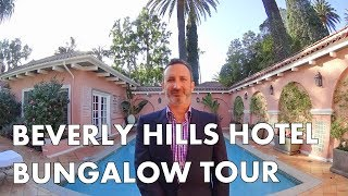 BEVERLY HILLS HOTEL - Bungalow 5 Tour - Inspired by Liz Taylor