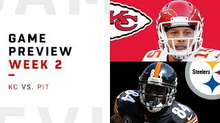 Kansas City Chiefs vs. Pittsburgh Steelers | Week 2 Game Preview | Move the Sticks