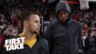The Warriors need Kevin Durant more than KD needs them – Stephen A. | First Take