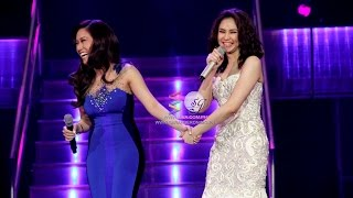Sarah G and Rachelle Ann Go, together again!