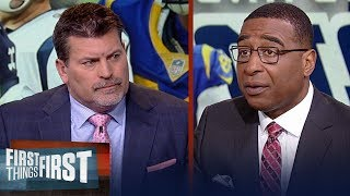Mark Schlereth agrees with Belichick's comments on Rams' Aaron Donald | NFL | FIRST THINGS FIRST