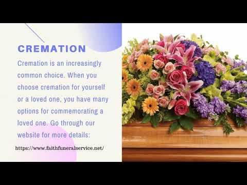 Faith Funeral Service Is A Guide For Making Funeral Arrangements: Funeral Home Jonesboro AR