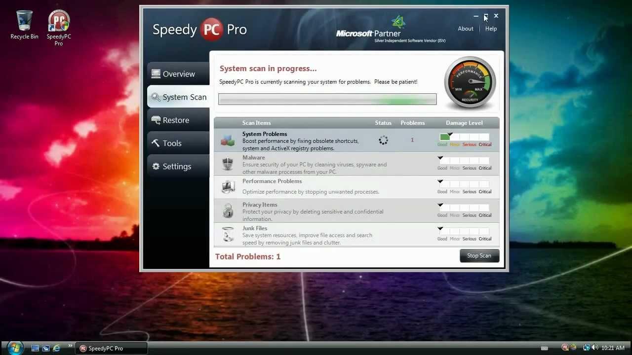 SpeedyPC Pro & License key activation 2012 FREE! Download ...
