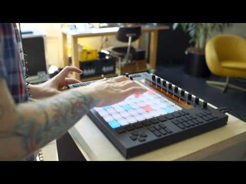 Ableton Push Performance: Keychee making beats on Push