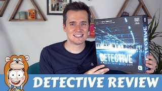 Detective: A Modern Crime Board Game Review