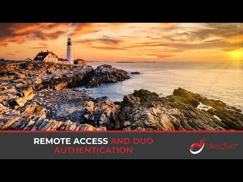 Remote Access and Duo Authentication