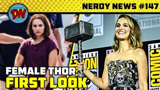 Female Thor First Look, Snyder Cut Official Release in India, Wanda Returns, Loki | Nerdy News #147