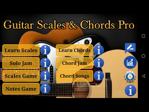 Guitar Scales & Chords Pro More Translations Download APK for ...