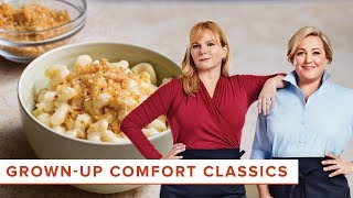 Grown-Up Comfort Classics: Stovetop Mac and Cheese and Turkey Meatloaf