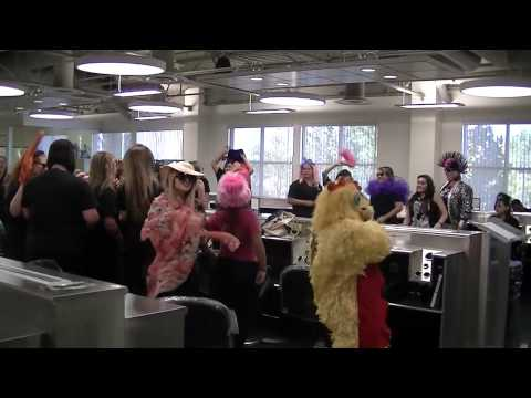 Blake Austin College Beauty Academy does the Harlem Shake