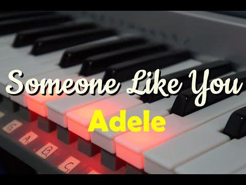 Someone Like You no teclado (Adele) - Lento