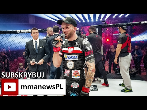 ACB 53: Adrian Zieliński jednogłośnym zwycięzcą walki wieczoru (+video)