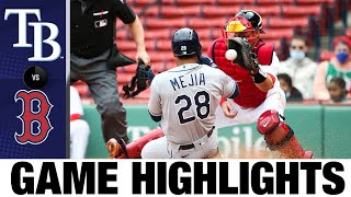 Rays vs. Red Sox Game Highlights (4/7/21) | MLB Highlights