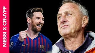 DE COLECCIÓN: Lionel Messi explicado por Johan Cruyff
