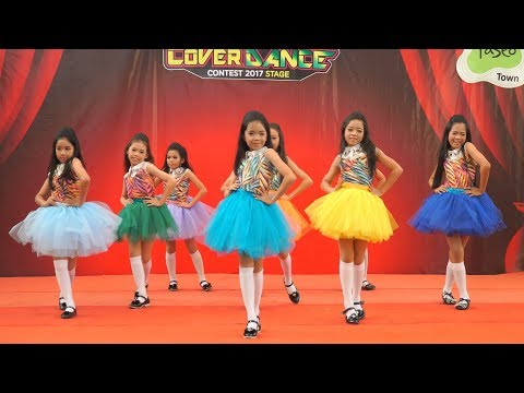 171223 Double S Junior cover KPOP - Hoot + Holiday (SNSD) @ The Paseo Town Cover Dance 2017 (Final)
