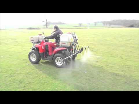 spraying with our quad bike .mov