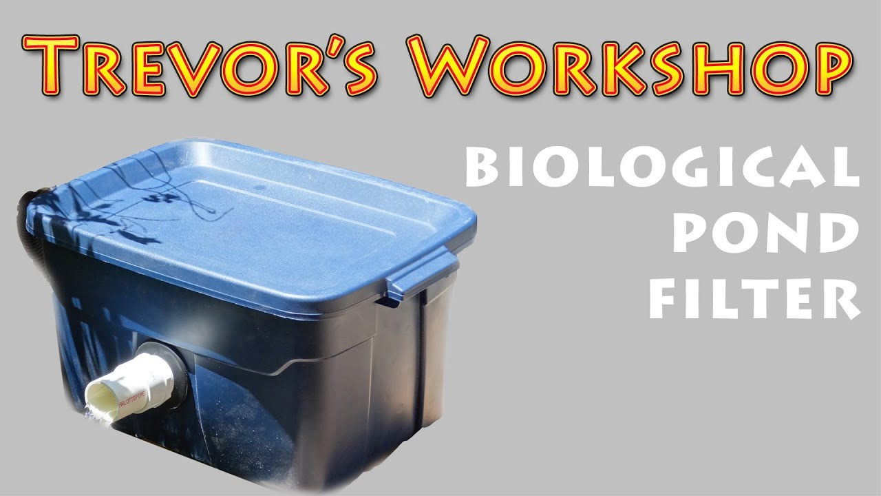 002 Homemade Pond Biological Filter Youtube