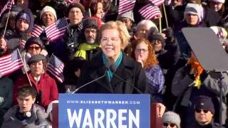 WATCH: U.S. Sen. Elizabeth Warren officially announces 2020 presidential bid