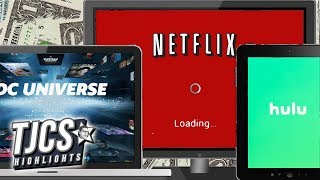 Subscription Services Like Netflix, DC, Hulu Cost More Than Cable