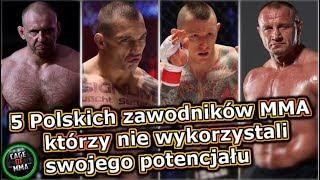 5 Zawodników MMA którzy nie wykorzystali swojego potencjału !