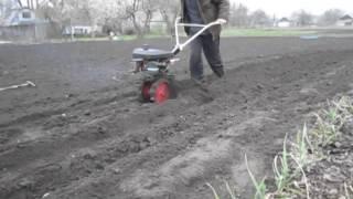 Как посадить картошку мини мотоблоком без лопаты