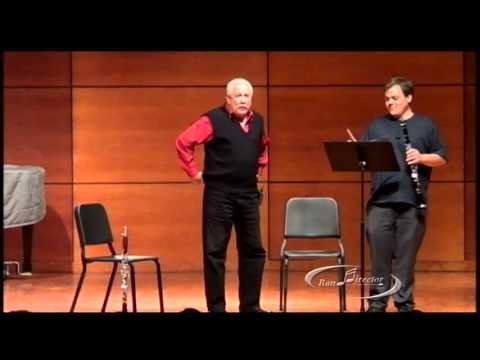 """Paquito D'Rivera Masterclass: """"The Clarinetist and Composer"""""""
