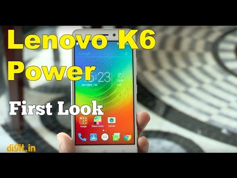 Lenovo K6 Power First Look  Digitin