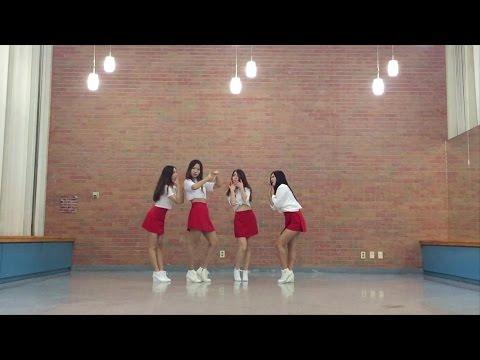 [U.N.I.Q] 나인뮤지스A - 입술에 입술 (cover dance)