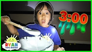 Ryan makes Fluffy Slime!
