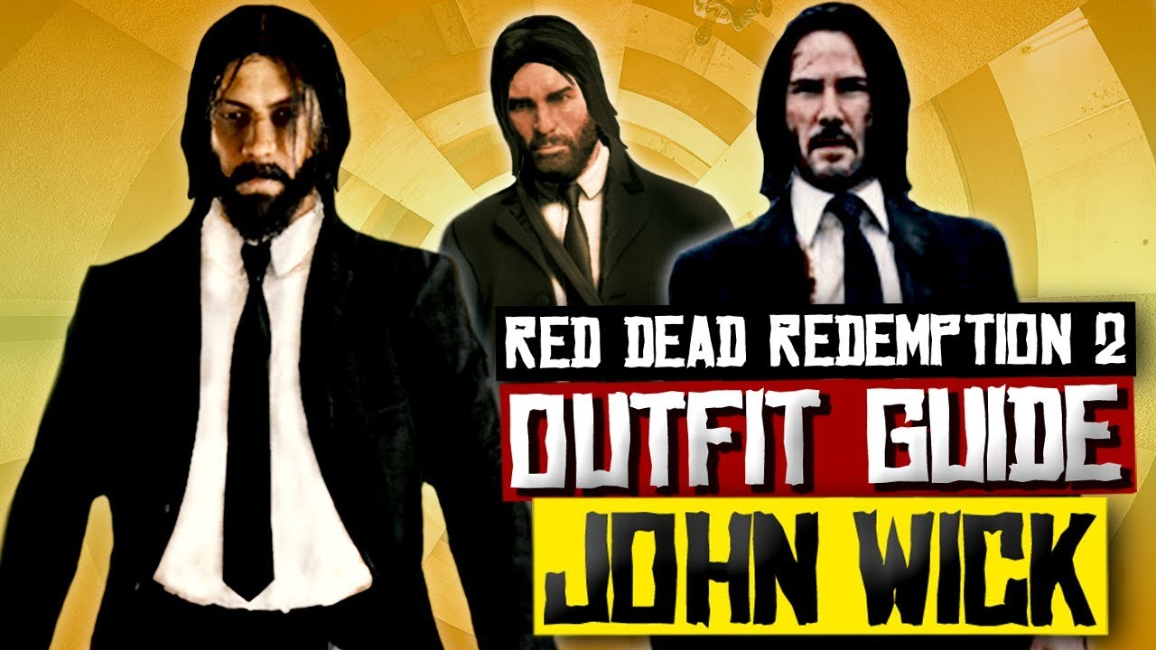 John Wick Online And Story Mode Outfit Guide Red Dead
