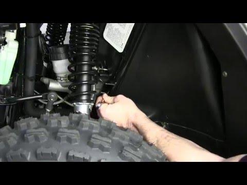 Bennche UTV 250 Braking Freeplay Inspection & Adjustment