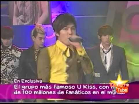 U-KISS in PERU [01/11/12] DOS SAPOS UNA REINA . PARTE 1 / 3