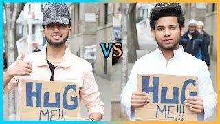 HUG Muslim Vs Non-Muslim Experiment (Social Experiment)