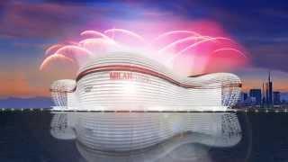 Milan Emirates Arena (ENG) New AC Milan Stadium