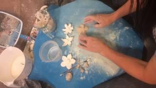 Ceramics Making a Flower