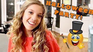 TEEN HALLOWEEN PARTY DATE | We are Not Ready!😬